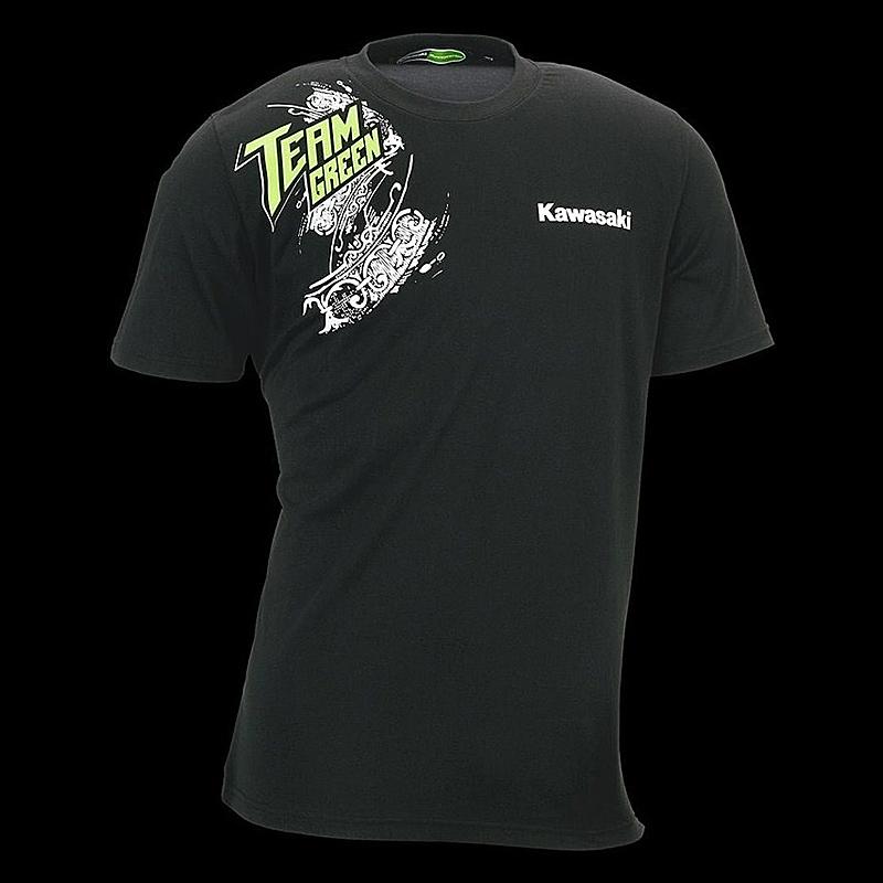 Kawasaki T Shirt Team Green