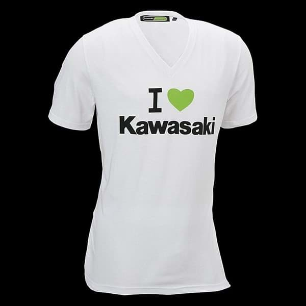 "Picture of Kawasaki T-Shirt ""I Love Kawasaki"""