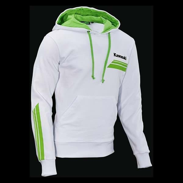 Picture of Kawasaki Herren Sports II Kapuzenjacke (Weiss)