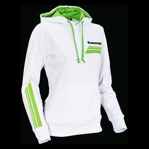 Picture of Kawasaki Damen Sports II Kapuzenjacke (Weiss)