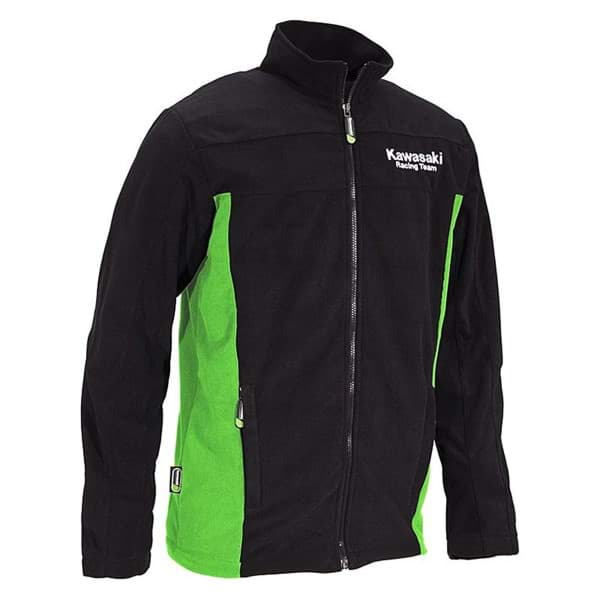 Picture of Kawasaki - KRT-Fleecejacke (Schwarz)