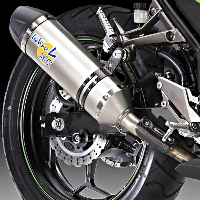Shop2ride Kawasaki Ninja 300 Auspuffanlage Evo2 L One