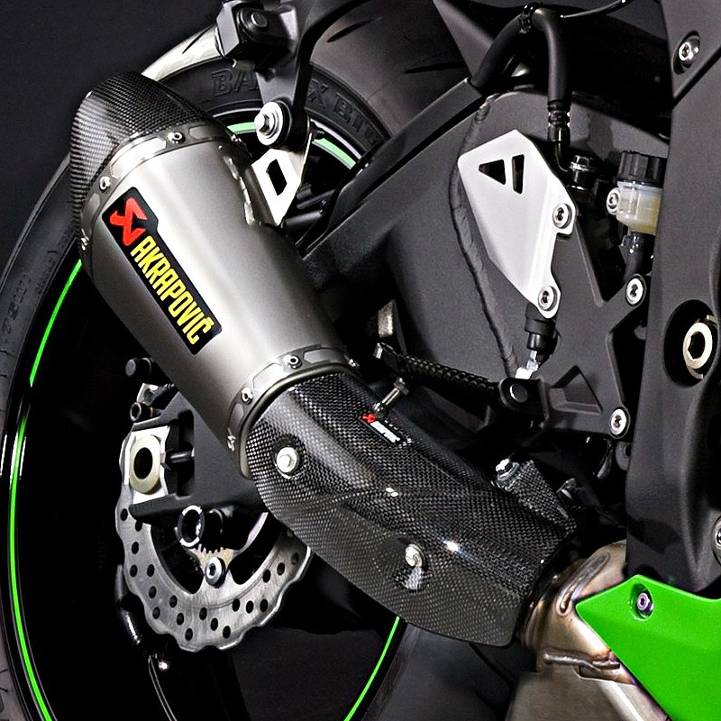 kawasaki ninja zx 10r akrapovic auspuff. Black Bedroom Furniture Sets. Home Design Ideas