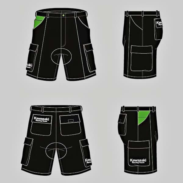 Picture of Kawasaki WSBK Cargo Shorts