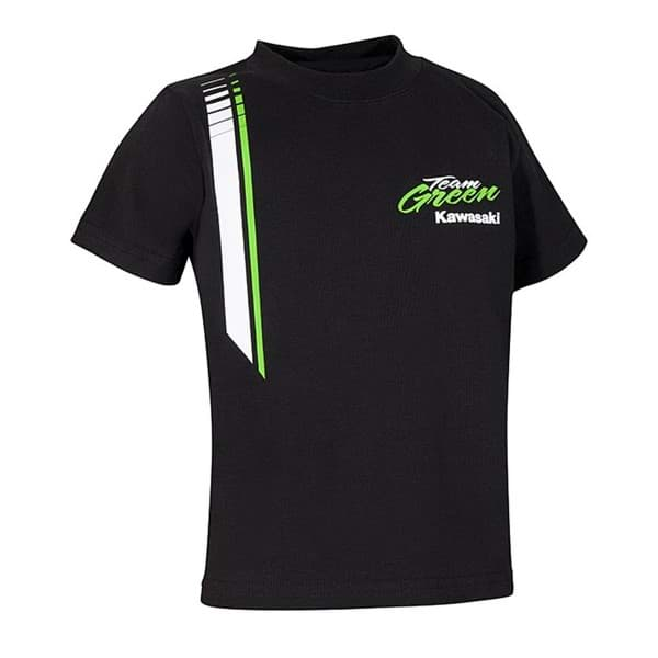 Picture of Kawasaki - Kinder Team Green T-Shirt Kurzarm
